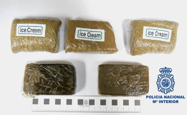 Detenido en El Llano con 500 gramos de hachís