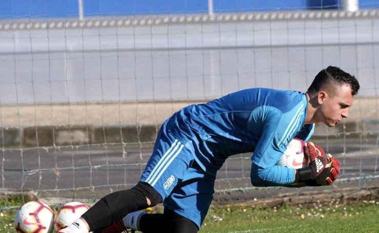 Entrenamiento del Real Oviedo (07-03-2019)