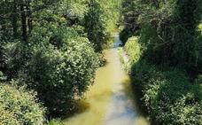 La Confederación sanciona a la EMA con 4.641 euros por vertidos al río Pinzales en 2018