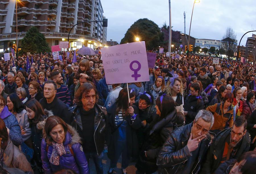 La marea feminista de Gijón