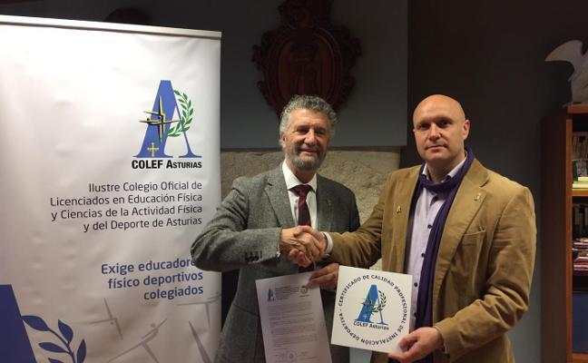 Las instalaciones deportivas de Navia, premiadas por el Colef