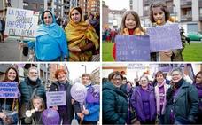 Razones por las que fueron a la manifestación del 8M en Gijón