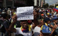 Guaidó quiere que Venezuela tome Caracas