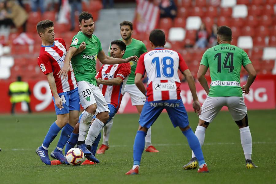 Sporting 1-0 Almería, en imágenes