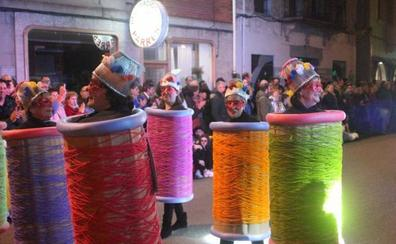 Derroche de imaginación en el carnaval de Arriondas
