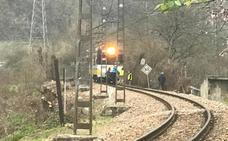 Fallece un vecino de Blimea tras ser atropellado por un tren de Feve