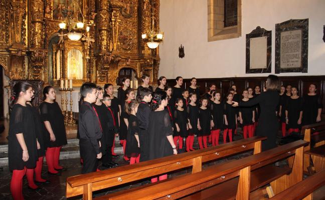 Voces de Luanco a Eslovenia