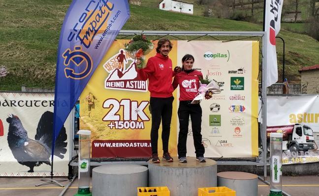 Andrés García se corona en el Trail Reino Astur