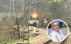 Un vecino de Blimea de 62 años fallece al ser golpeado por el tren