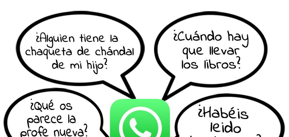 Consejos para padres sobre cómo usar un grupo de Whatsapp del colegio