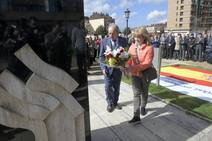 Oviedo recuerda a las víctimas del terrorismo