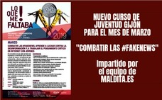 Taller «Combatir las #fakenews» con Juventud Gijón
