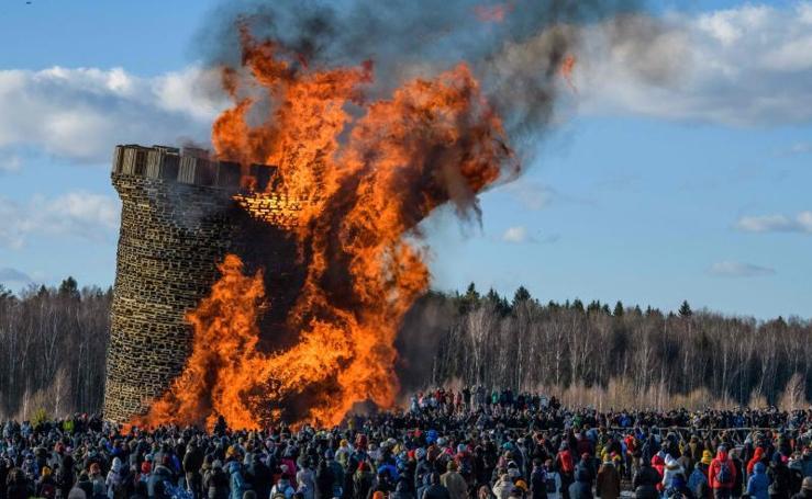 Rusia despide el invierno