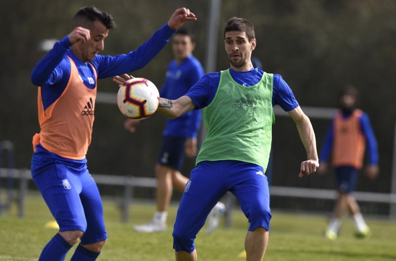 Entrenamiento del Real Oviedo (12/03/19)
