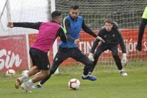 Entrenamiento del Sporting (13/03/2019)