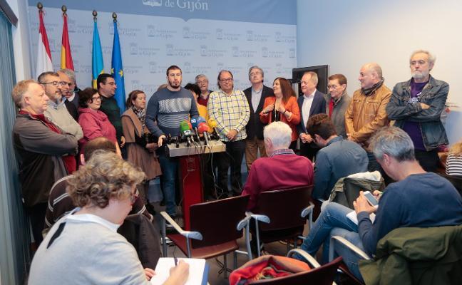 La alcaldesa apremia a Pedro Sánchez a firmar el convenio del plan de vías de Gijón