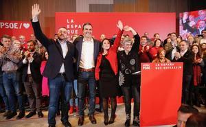 Sánchez promete una transición energética justa, con Hunosa «a la vanguardia»