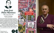 Gijón rinde homenaje a Juan José Plans con una zona verde en El Coto