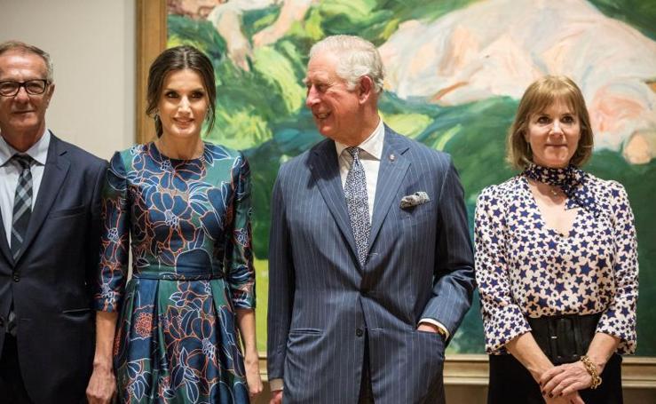 La reina Letizia inaugura la mayor muestra de Sorolla en Londres