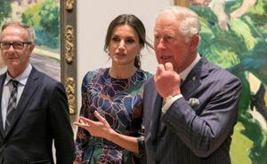 La Reina lleva Sorolla a Londres