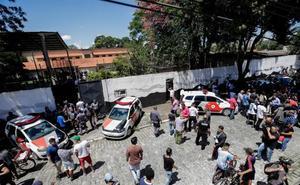 Dos exalumnos provocan una matanza en un instituto de Brasil