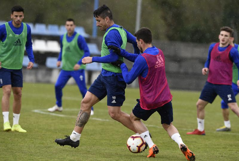 Entrenamiento del Real Oviedo (13/03/19)