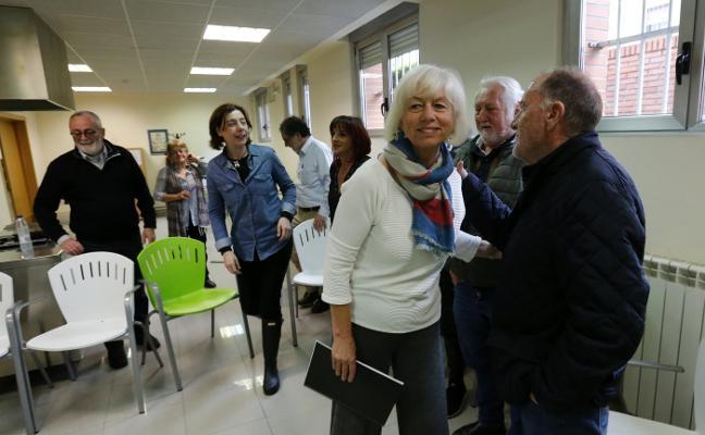 Concha Masa respalda el proyecto para Santullano