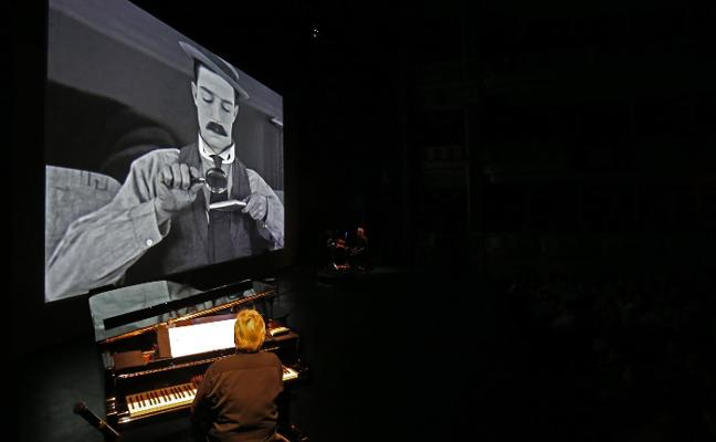 Jordi Sabatés pone música a Buster Keaton