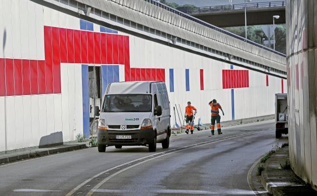 Un nuevo accidente en el túnel de El Llano provoca atascos kilométricos