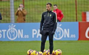 Aitor García: «Queremos ganar y seguir escalando posiciones»