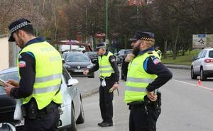 Un conductor repite positivo por alcoholemia tras ser detenido dos veces en dos controles en Avilés