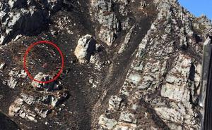 Evacuan en helicóptero a una mujer herida tras caer 100 metros en una ruta en Sobrescobio