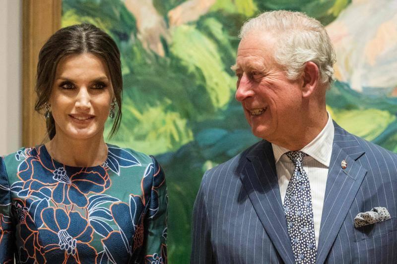 El error por el que Letizia hizo esperar al príncipe de Gales