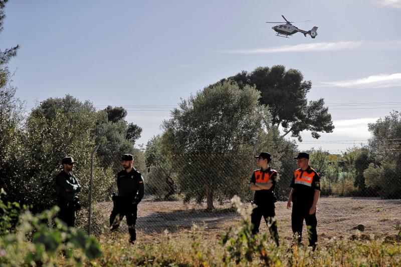 Más de cien efectivos se vuelcan en la búsqueda de dos niños en Godella