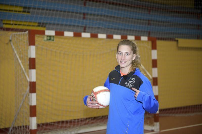 Sonia Alonso: «La vinculación con el Burela es un gran impulso»