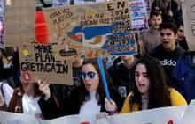 Manifestación para «exigir un aire limpio»