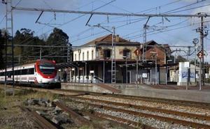 Oviedo quedará a 20 minutos en tren con la futura variante de Serín a Llanera