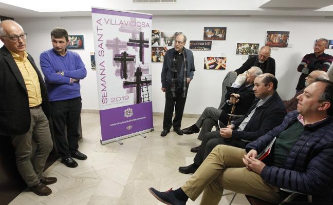 El 'pintor de la liberación' regresa a Villaviciosa