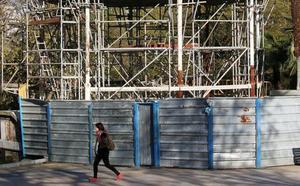 El Ayuntamiento de Oviedo prepara el contrato de rehabilitación del kiosco de El Bombé