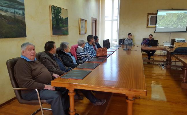 Las carreteras de Molleda y de Los Campos a Trubia tendrán nuevos itinerarios peatonales