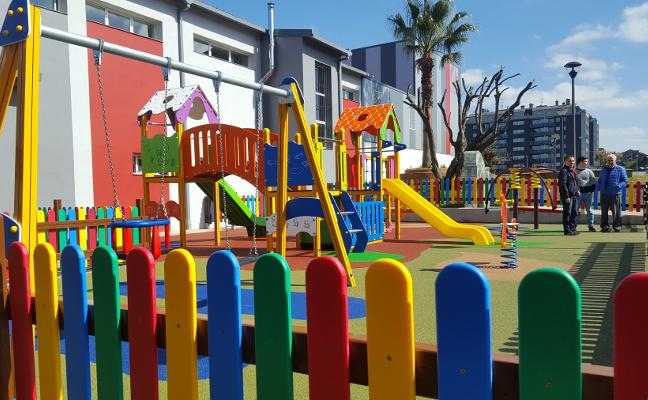 El complejo cultural del Llar cuenta con una nueva zona infantil anexa