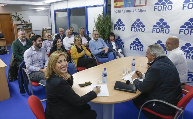 Álvaro Muñiz reivindica a Foro como «partido de gobierno con un proyecto real»