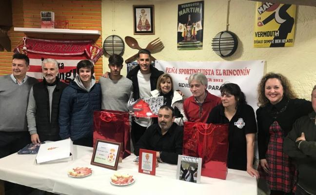 Alegría y Cordero, en el séptimo aniversario de la peña El Rinconín