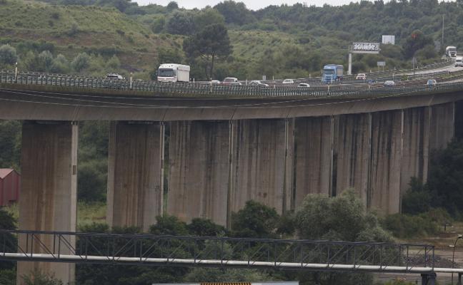 Luz verde a la reparación de «emergencia» del deteriorado viaducto de Somonte, en la 'Y'