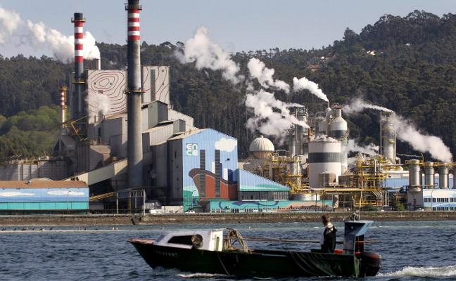 Ence cifra en 185 millones el cierre de su planta gallega