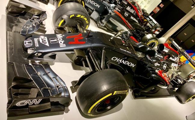 El Museo Fernando Alonso incorpora una unidad del MP4-31