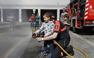 El parque de bomberos, abierto a todos
