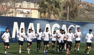 El Sporting ultima la preparación en Málaga