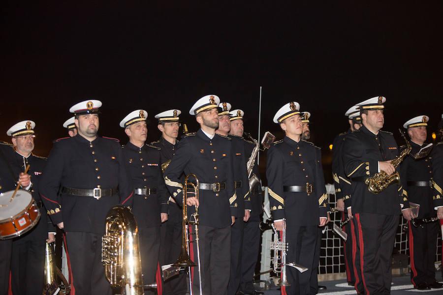La Armada honra a Pedro Menéndez