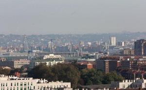 Los ecologistas denuncian dos días seguidos de «mala calidad del aire» en el Lauredal